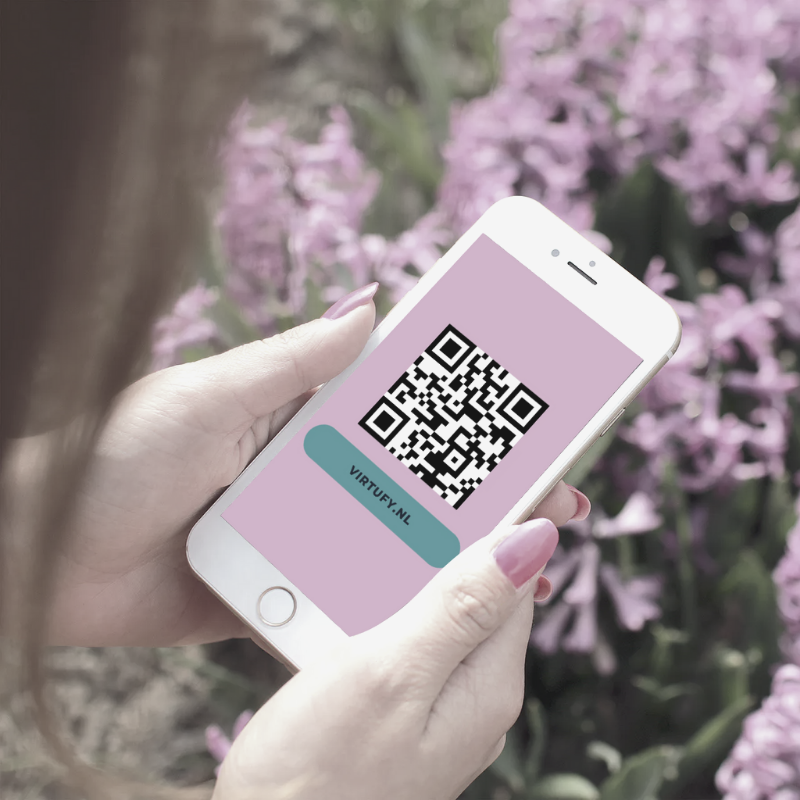 Blog maak een QR code in Canva | Virtufy